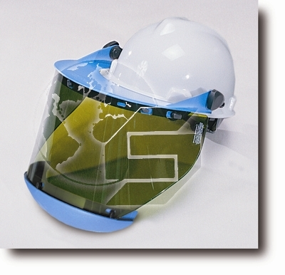 Arc Flash Faceshield with Chin Guard / Slotted Visor / Hard Cap Assembly