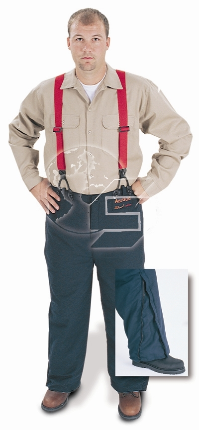 Arc Flash 40 Cal Overpant with Suspenders