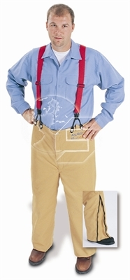 Arc Flash 65 Cal Overpant with Suspenders