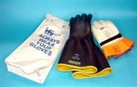 High Voltage Glove Kit 3 - Class 1 Straight Cuff Gloves