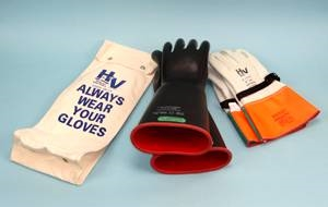 High Voltage Glove Kit 10 - Class 3 Straight Gloves