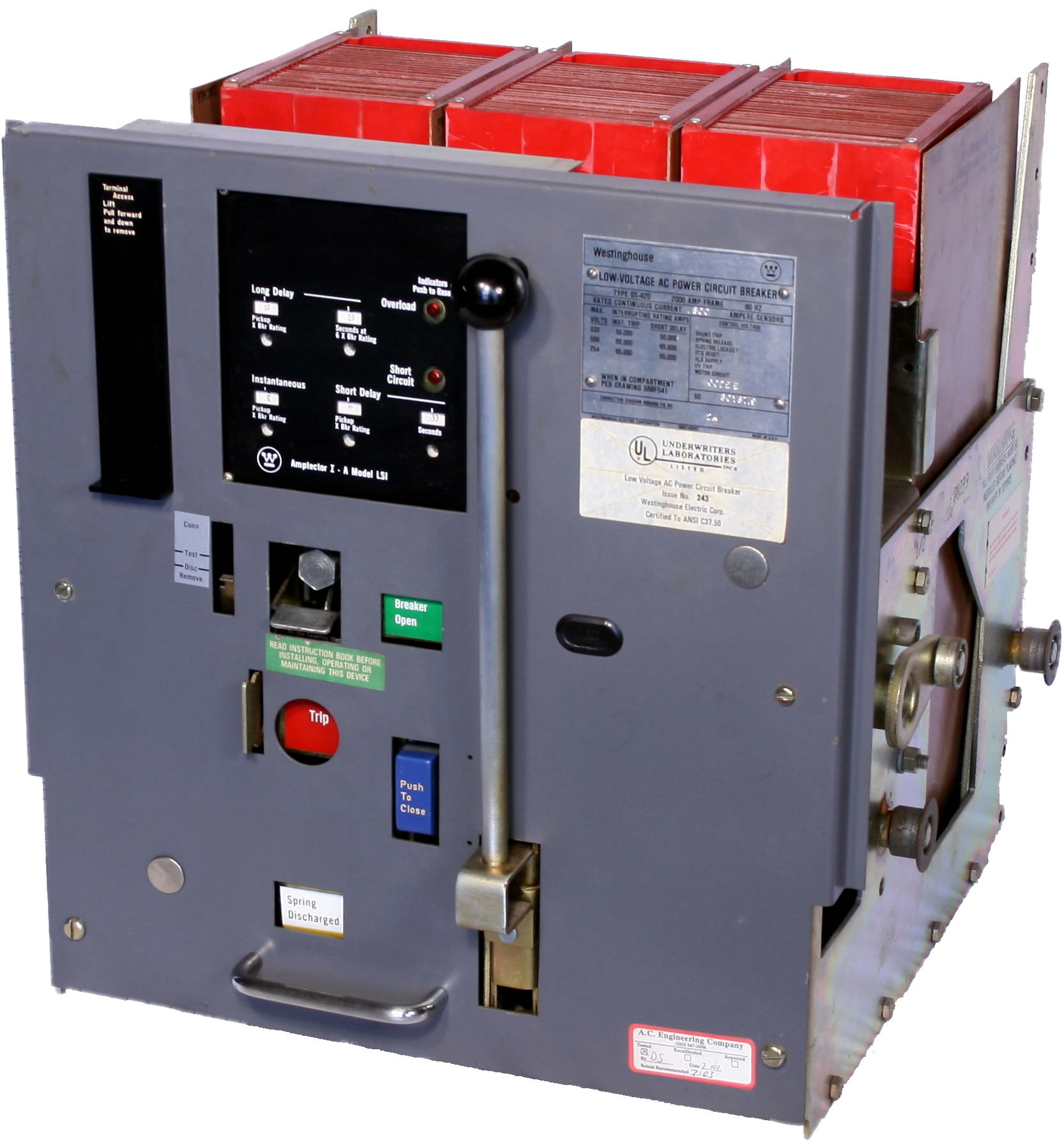 Low Voltage Circuit Breaker