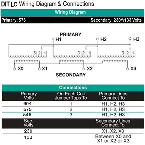 DIT-LC Wiring Diagram