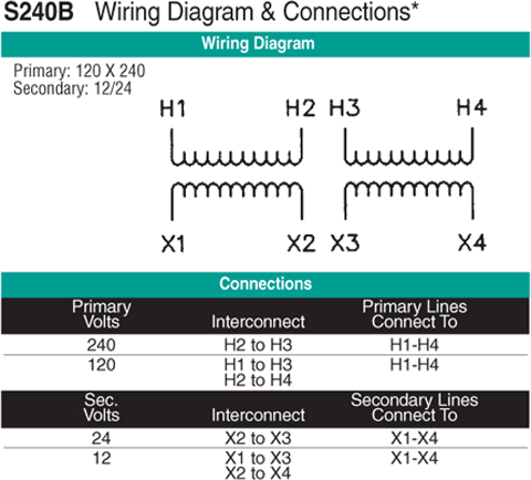 S240B Wiring Diagram