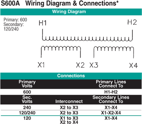 S600A Wiring Diagram