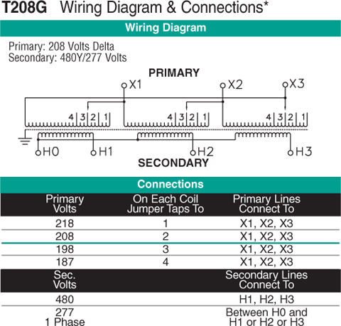 T208G Wiring Diagram