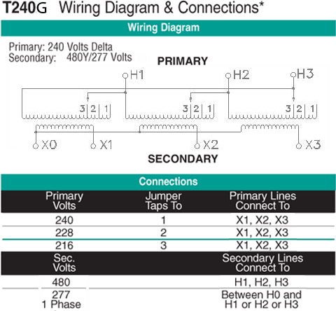 T240G Wiring Diagram