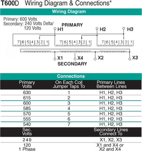 T600D Wiring Diagram