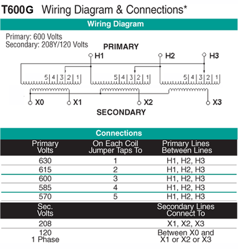 T600G Wiring Diagram